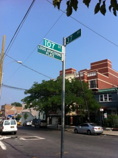 Nice day for a heat wave, and a walk through Queens...