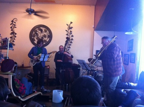 Vlatkovich Quartet at Dagny's