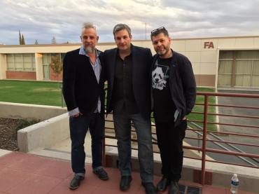 with Lucian Ban and Mat Maneri at Bakersfield College