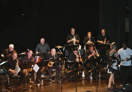Uptown Swing Orchestra at the Ovation Theatre
