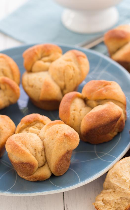 Cloverleaf Rolls - buttery, homemade rolls (whole-wheat option!) | Kristine's Kitchen