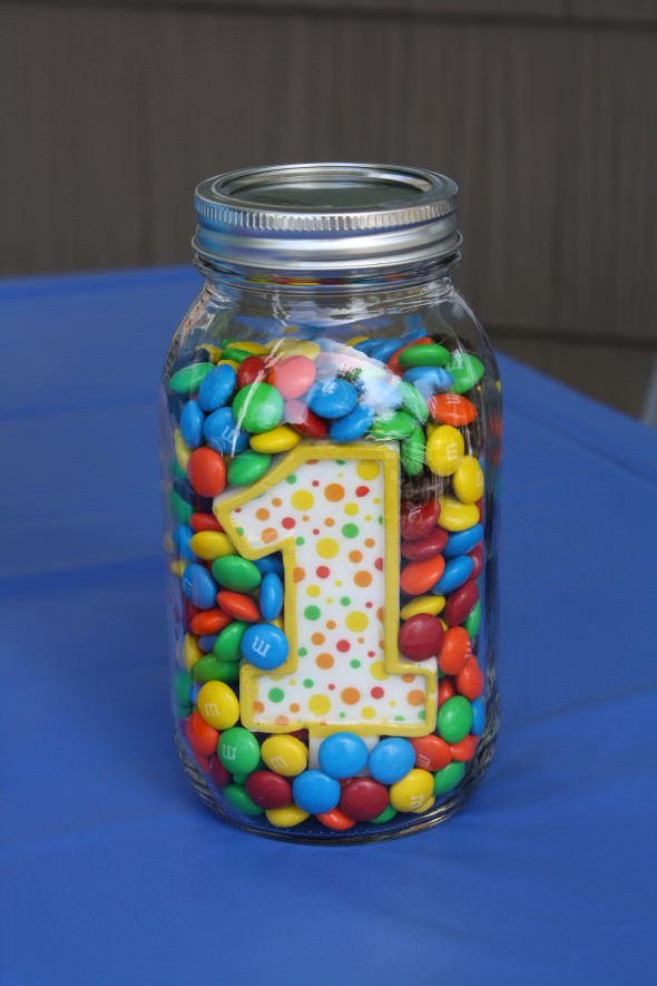 First Birthday M & Ms