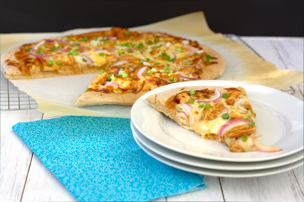 BBQ Chicken Pizza by Kristine's Kitchen