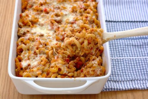 Cheesy Mac Bolognese by Kristine's Kitchen