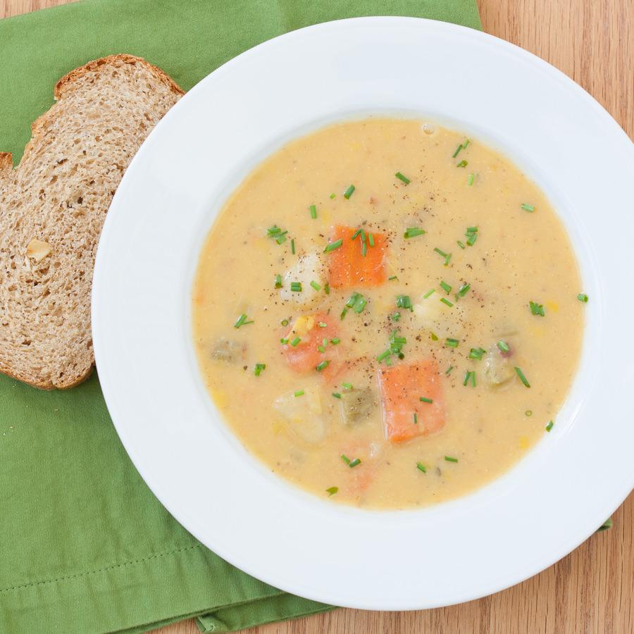 Hearty Vegetable Chowder | Kristine's Kitchen