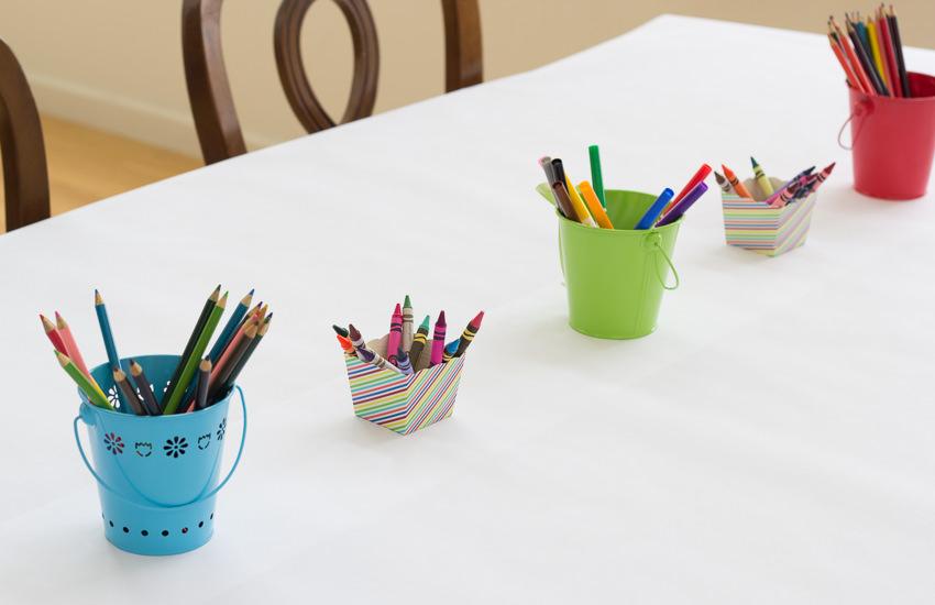 Colorful Art Birthday Party|Kristine's Kitchen