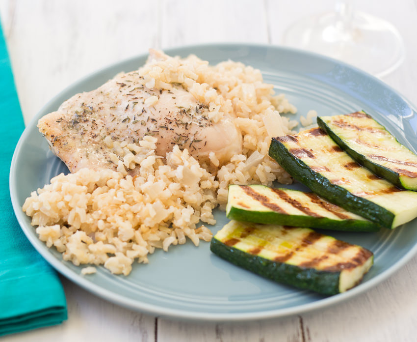 Parmesan Chicken and Rice Casserole- perfect for busy weeknights | Kristine's Kitchen