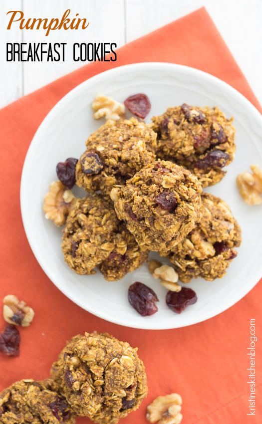 Pumpkin Breakfast Cookies (Gluten-Free) | Kristine's Kitchen