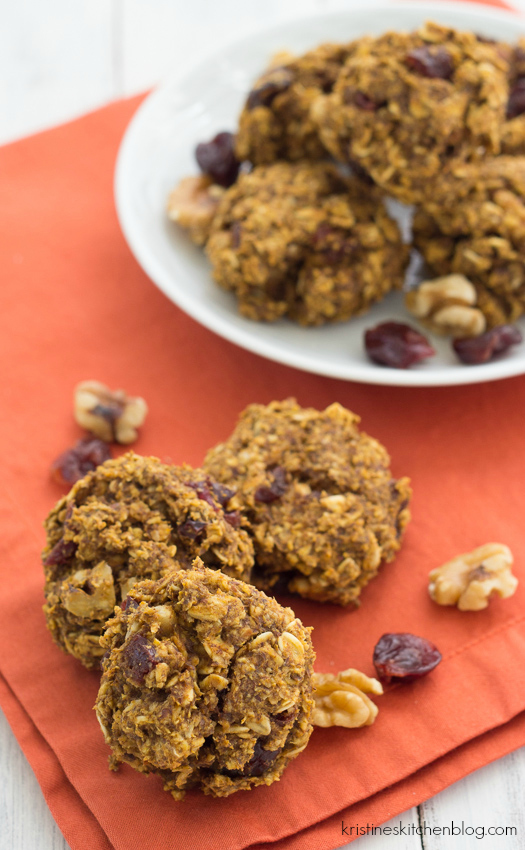 Pumpkin Breakfast Cookies (Gluten-Free)