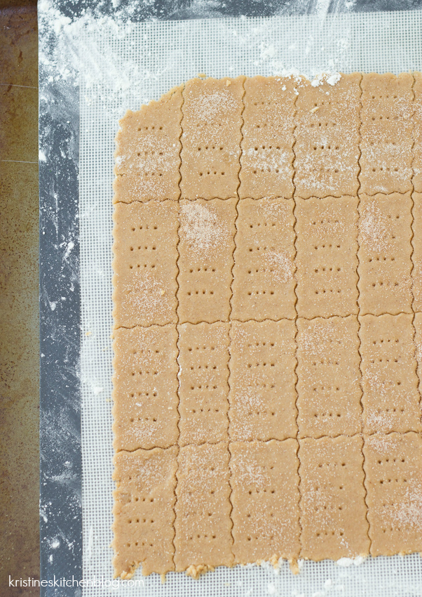 Whole Grain Graham Crackers - easier than you think to make! | Kristine's Kitchen