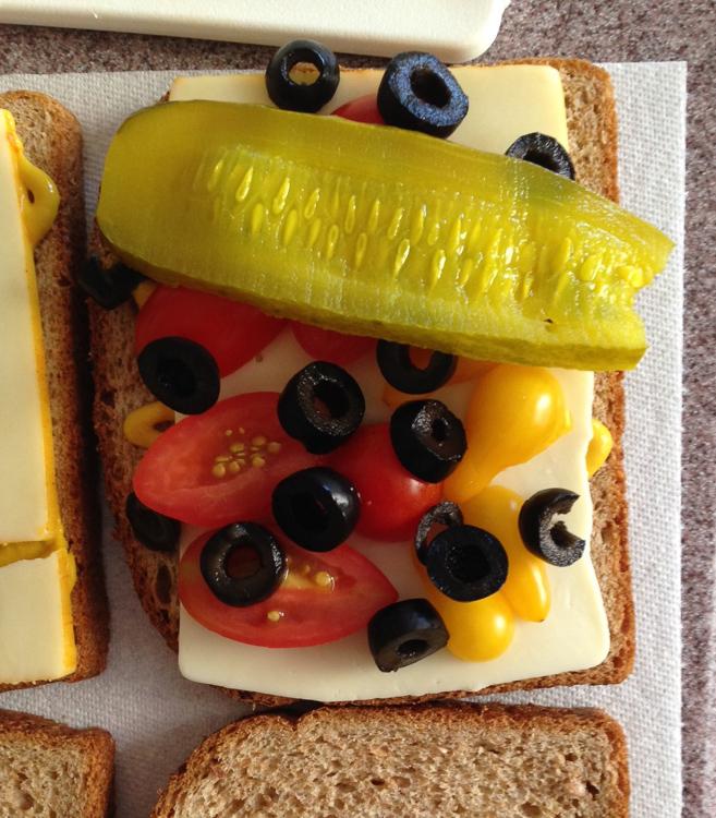 pickle sandwich