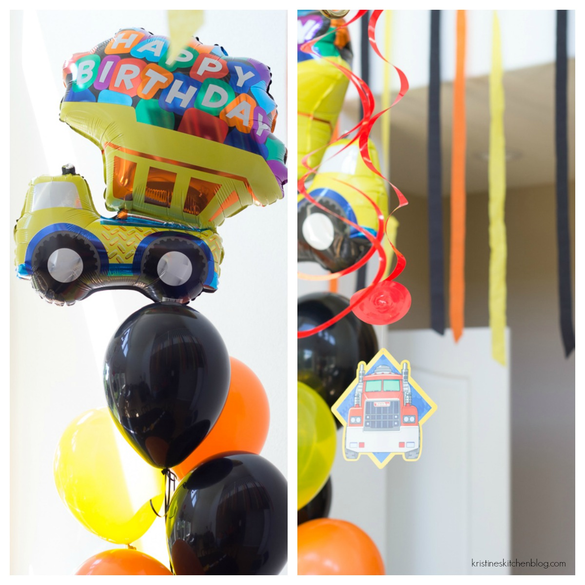 Construction Birthday Party Decorations