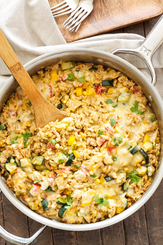Southwest-Turkey-Vegetable-and-Rice-Skillet2