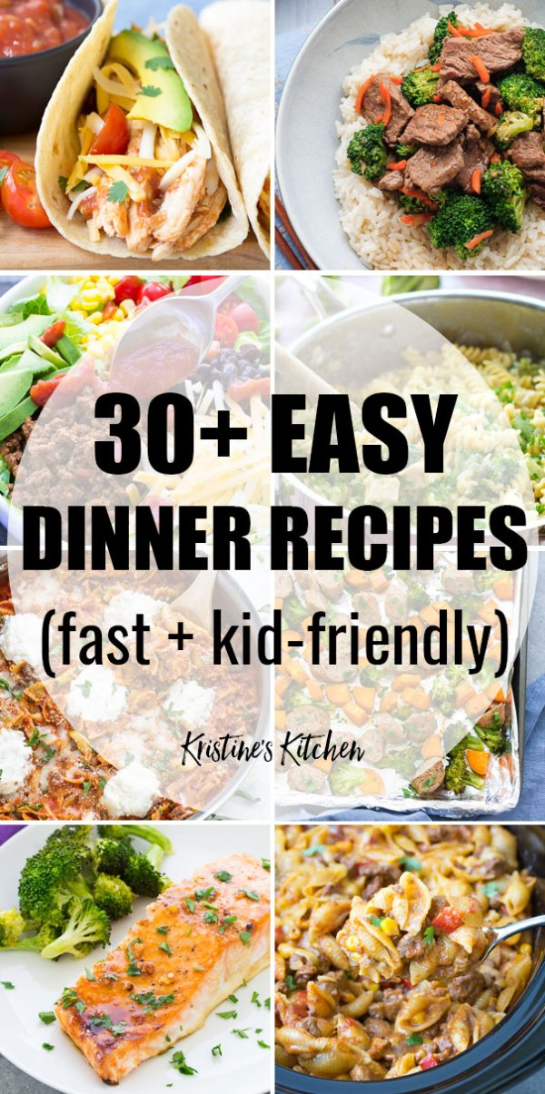 30 Easy Dinner Recipes For Your Busiest Days