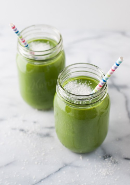 Spinach Apple Smoothie