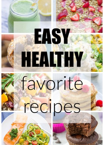 Our very favorite easy & healthy recipes! Slow cooker, make ahead, snacks, breakfasts and dinners! | www.kristineskitchenblog.com