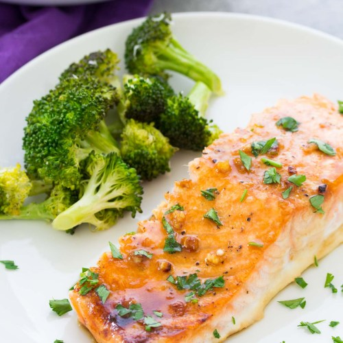 Easy Oven Baked Salmon Recipe - Healthy Dinner Recipe