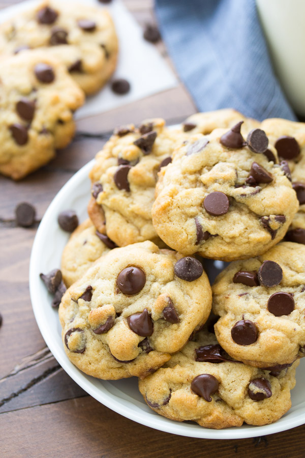 Our Favorite Soft And Chewy Chocolate Chip Cookies Kristine S Kitchen