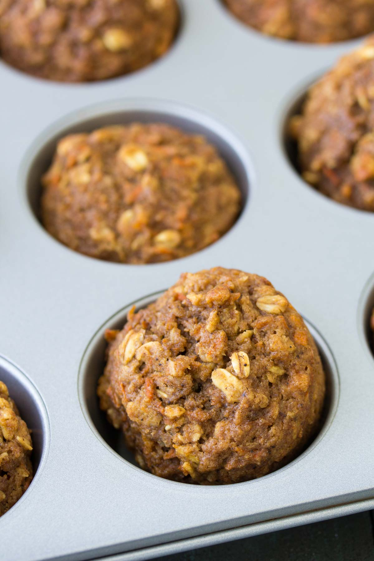 cake cake muffins in muffin pan from oven
