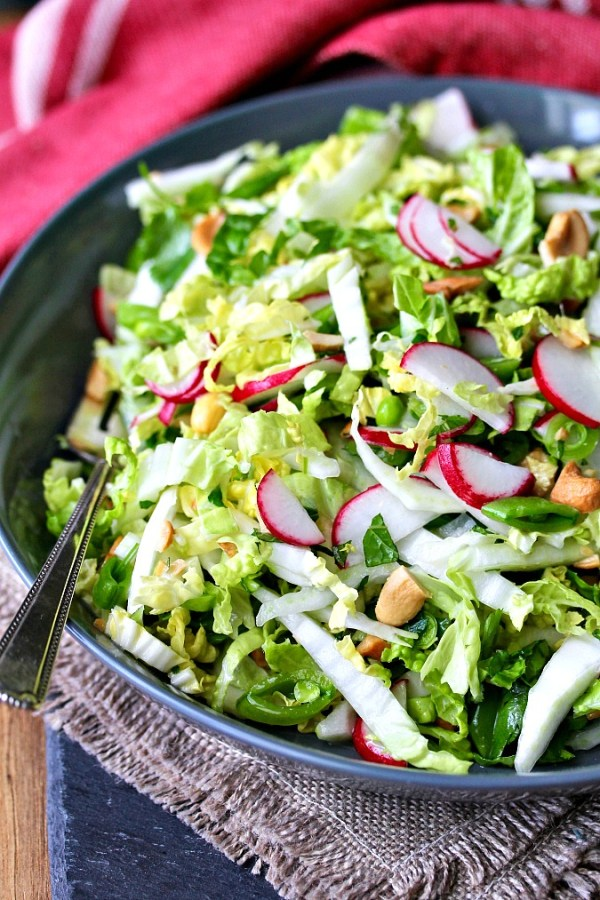 Thai-Style Coleslaw with Chiles, Mint and Cilantro