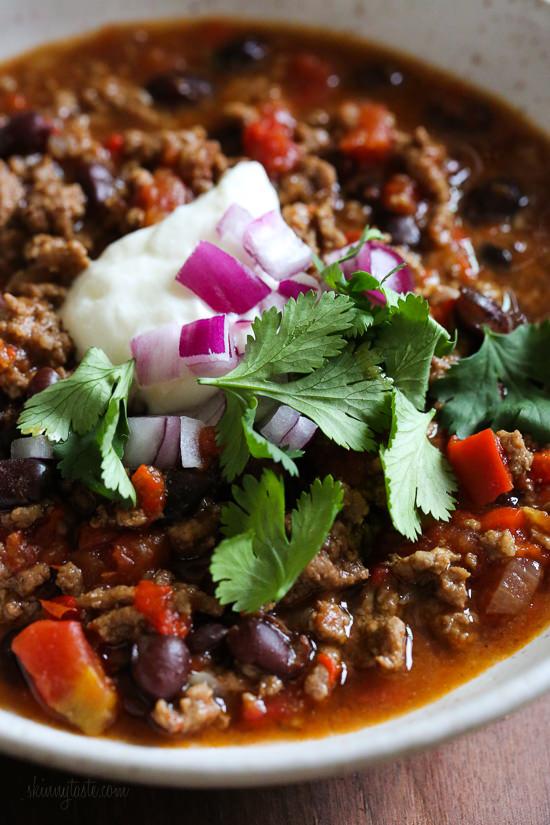 quick instant pot beef chili recipe