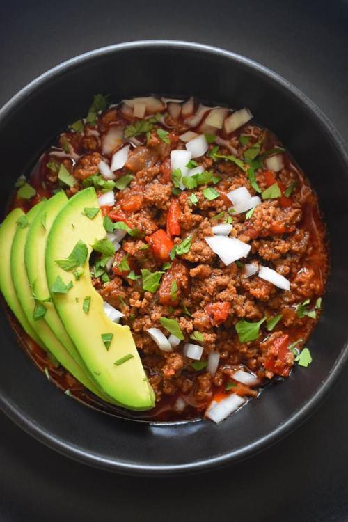 paleo instant pot ground beef chili