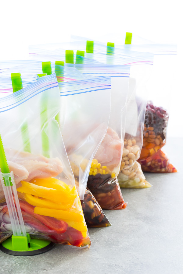 Best freezer meal tools! Prep meals for your freezer and then cook in the slow cooker or instant pot!