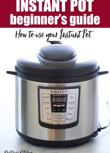 Beginner's Guide for the Instant Pot