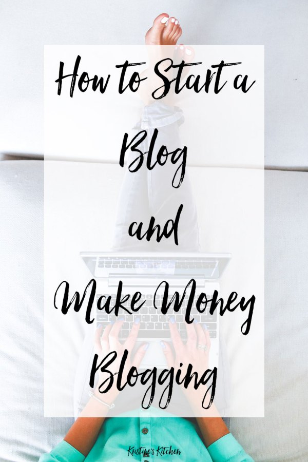 How to start a blog and make money.