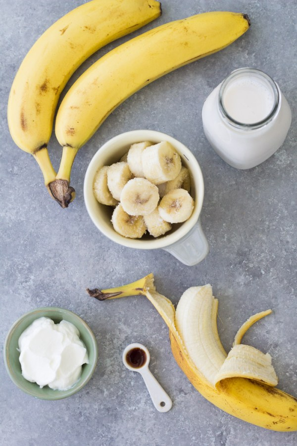Banana Smoothie Simple Healthy