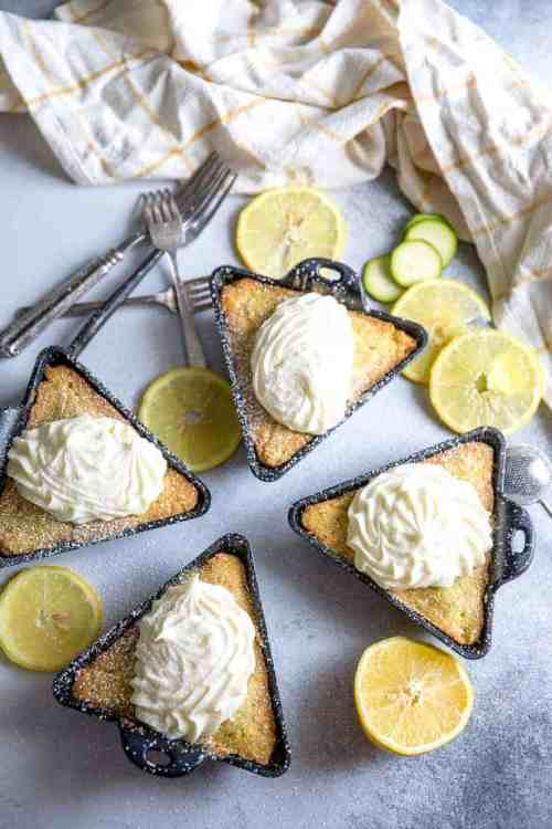 Lemon Frosted Zucchini Cake