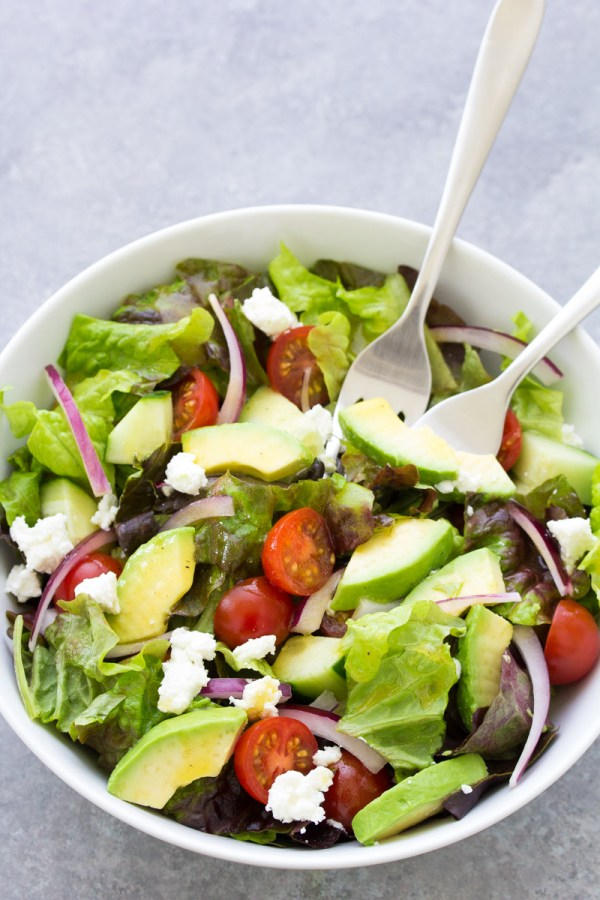 Simple Green Salad Recipe