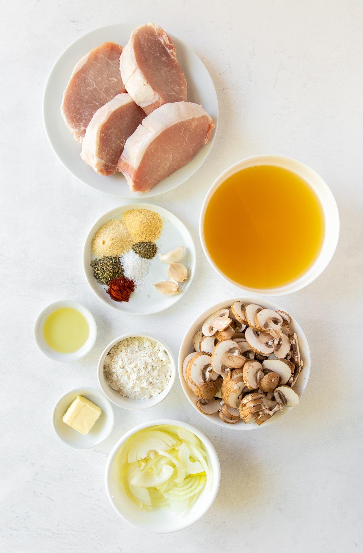 recipe ingredients for crock pot pork chops
