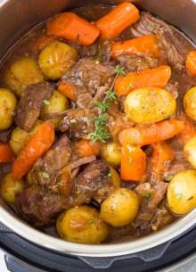 pot roast in an instant pot