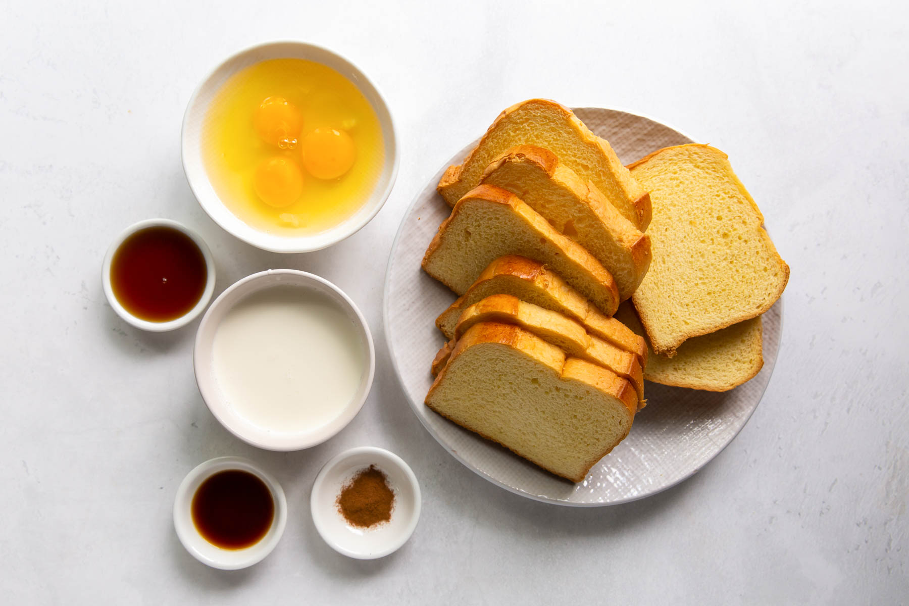 ingredients for french toast recipe