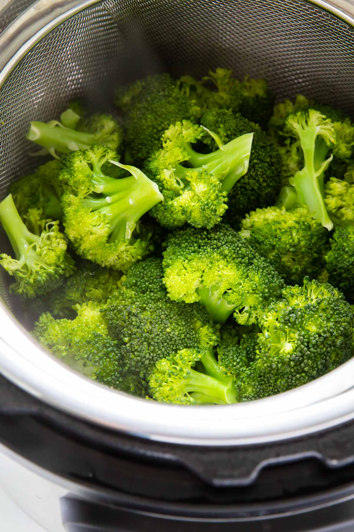 steamed broccoli in instant pot
