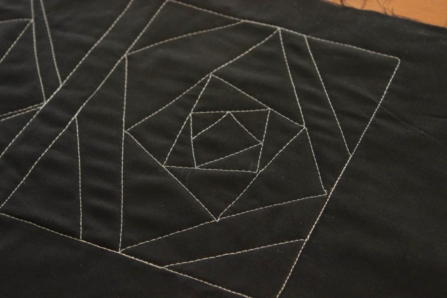 domestic machine quilting