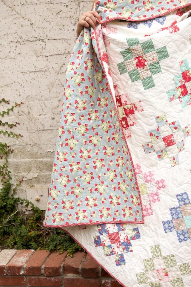 Granny Square quilt kristinesser.com
