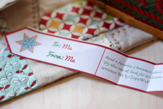 Advent Calendar for Moms--such a fun idea!