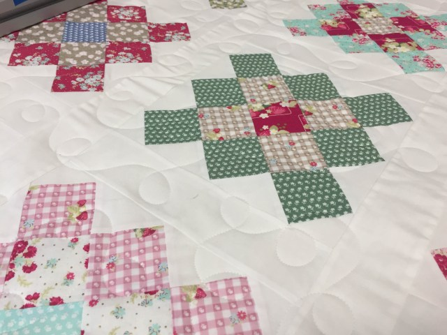 Loopy Meander quilting