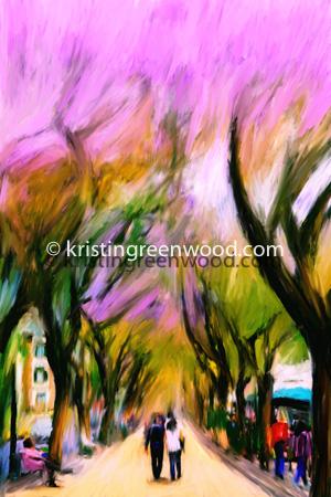 Funchal in Bloom by Kristin Greenwood