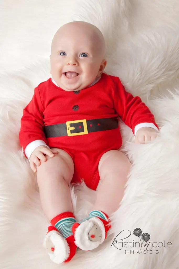 Christmas boy| Salisbury MD Newborn Photographer