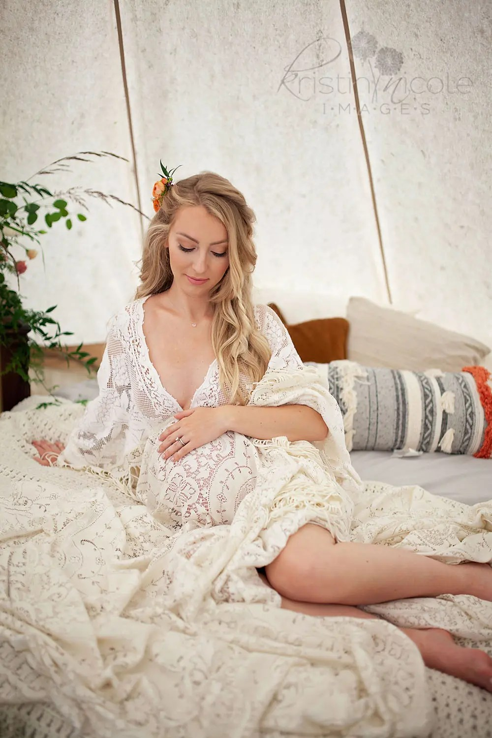 Glamping Maternity Photography