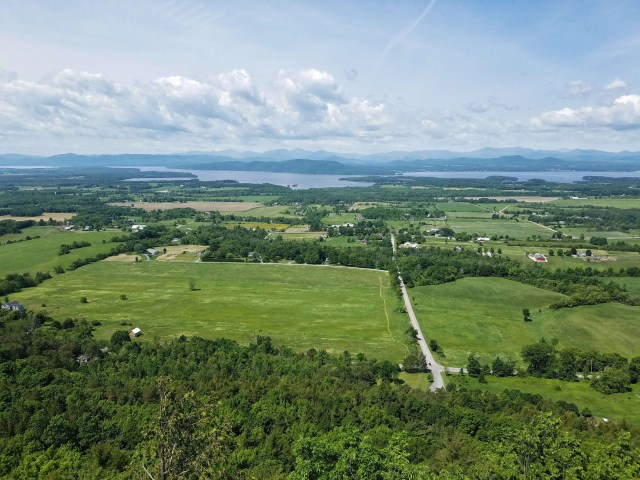 view from the top of mt philo