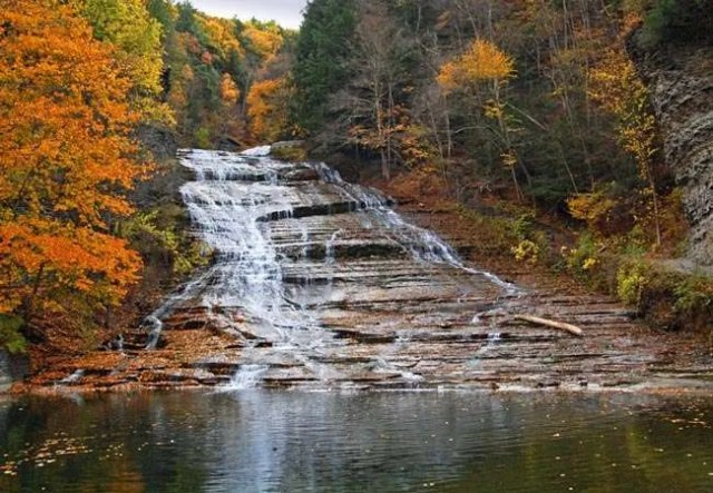 Buttermilk Falls, Ithaca NY - Finger Lakes