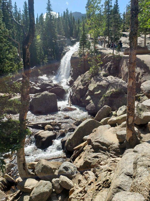 alberta falls  rocky mountain park