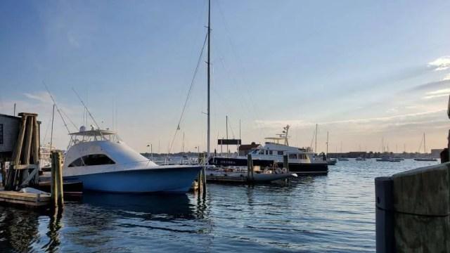 Newport, Rhode Island Boat docks