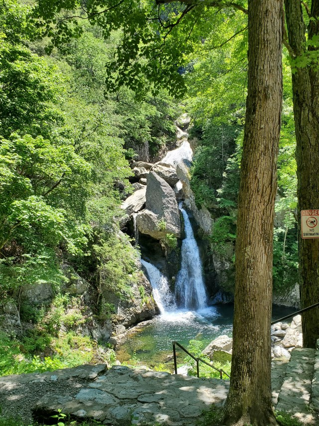 Bash Bish Falls from Above