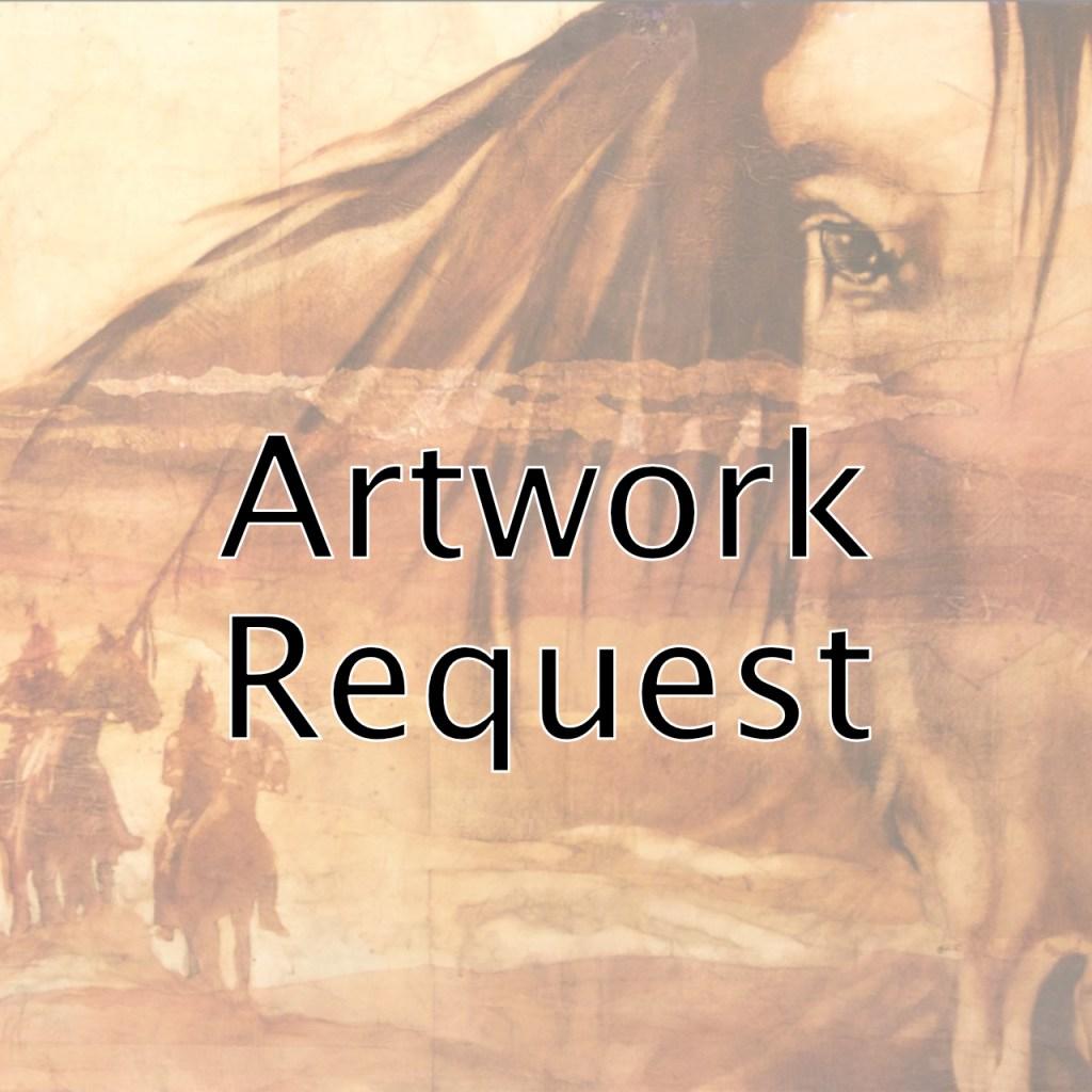 request artwork