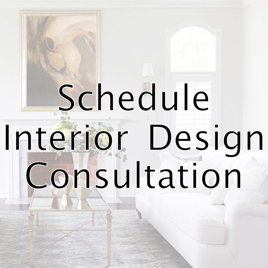 schedule interior design consultation
